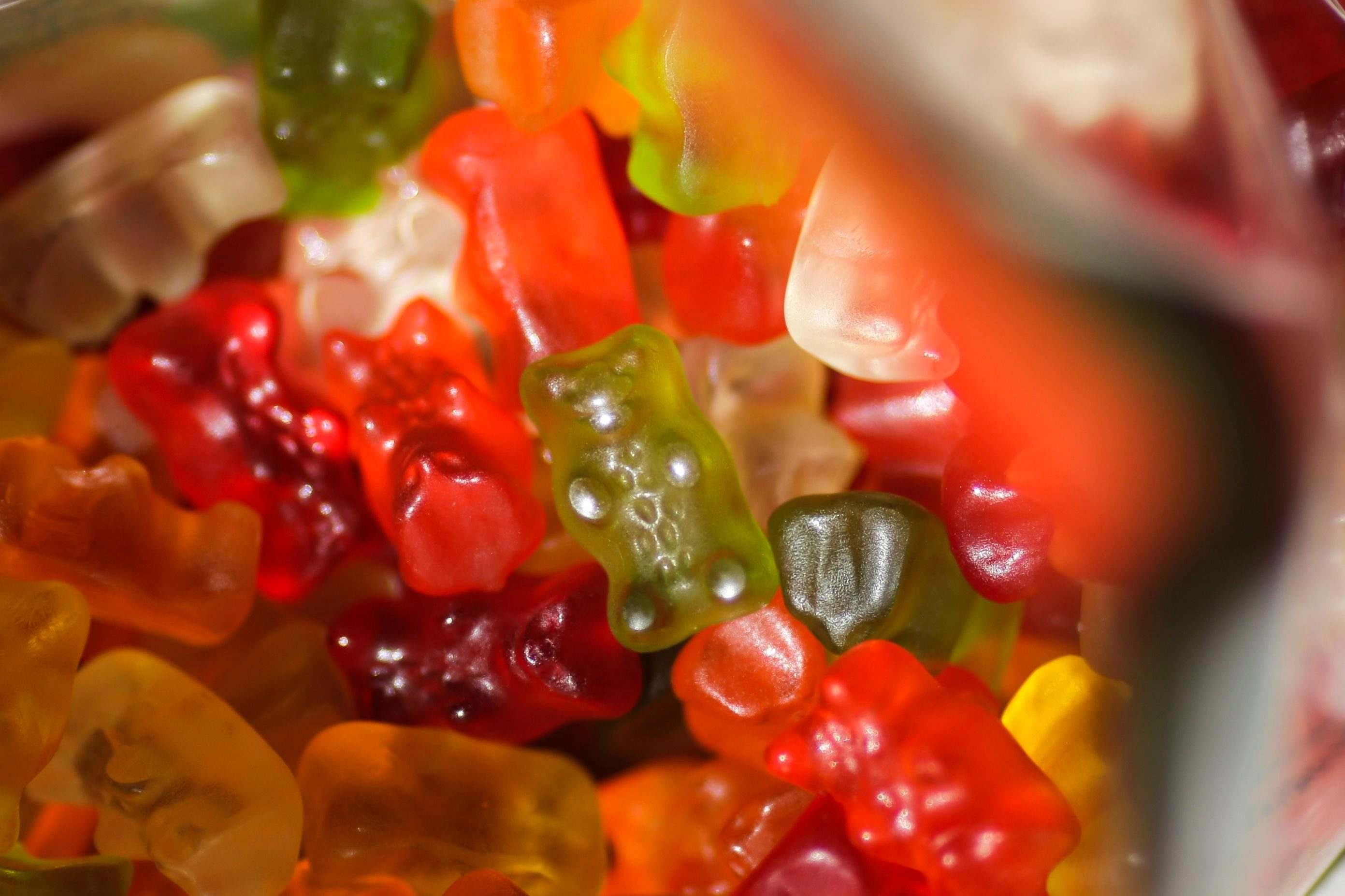 """Mandatory Credit: Photo by AP/Shutterstock (8552360a) Haribo gummy bears sit in their package in Berlin, Germany, Friday, 24, 2017. Germany's iconic gummy bear will soon be """"Made in USA."""" Bonn-based Haribo, which invented the gummy bear nearly a century ago, said Friday it would open a U.S. factory in Wisconsin in 2020 US Gummy Bears, Berlin, Germany - 24 Mar 2017"""
