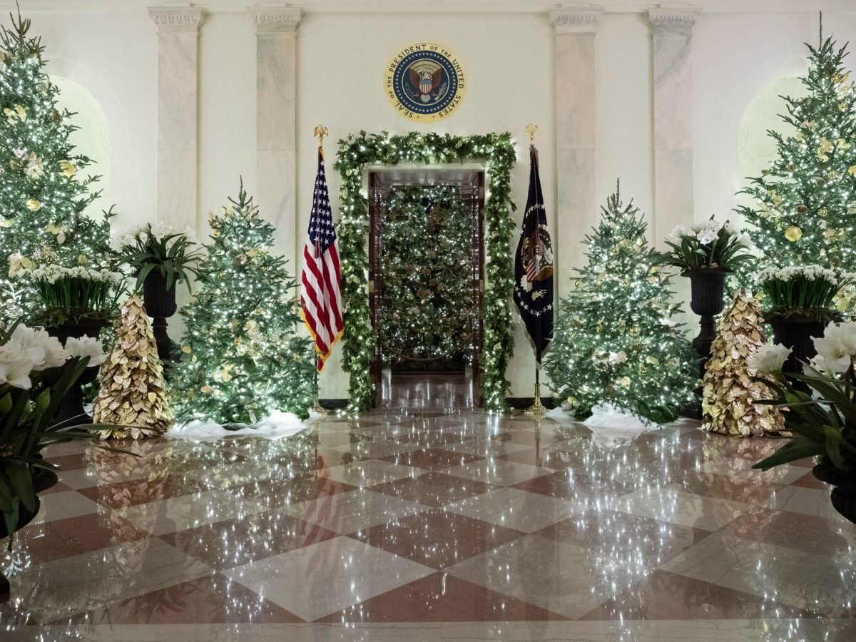 White House Christmas Ornaments Through the Years