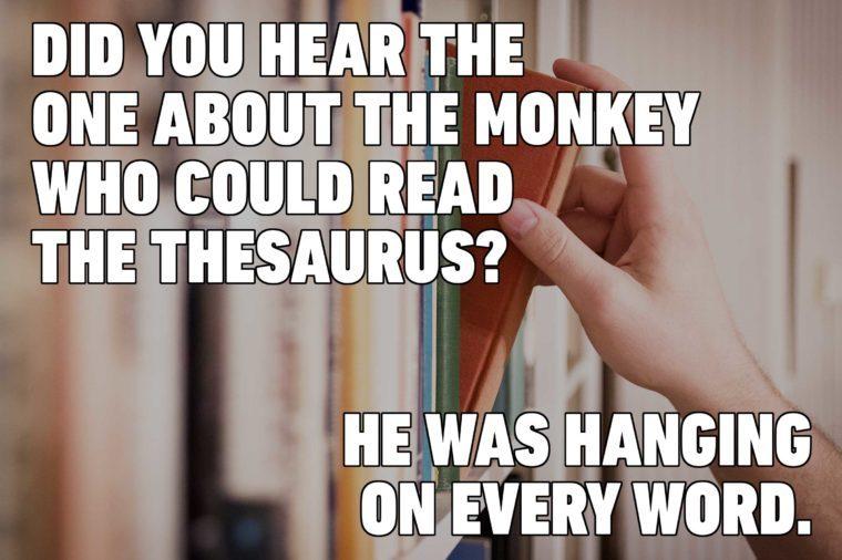 thesaurus jokes