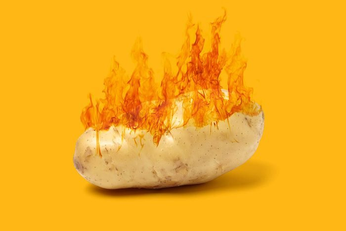 hot potato idiom
