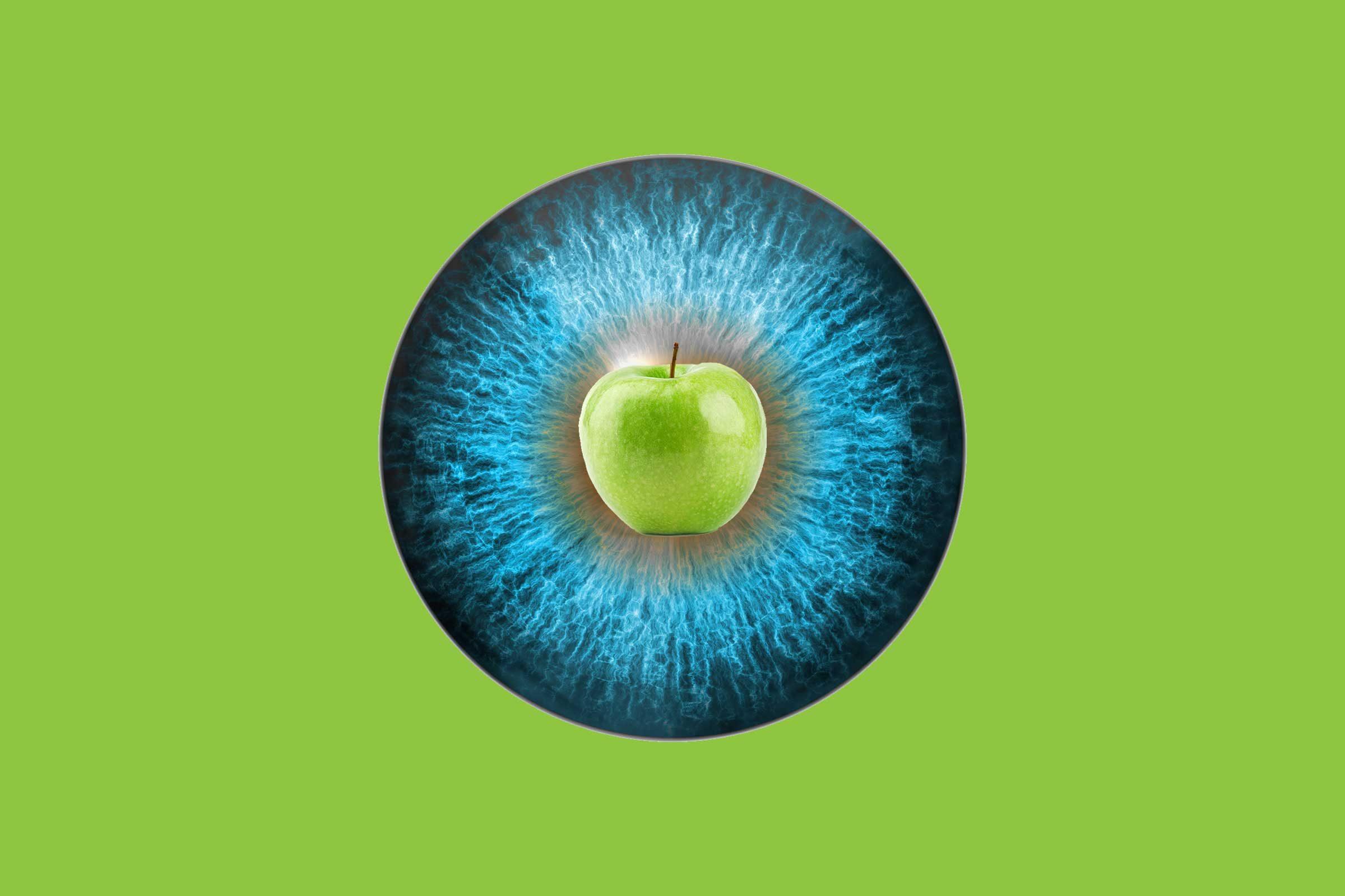 apple of my eye idiom