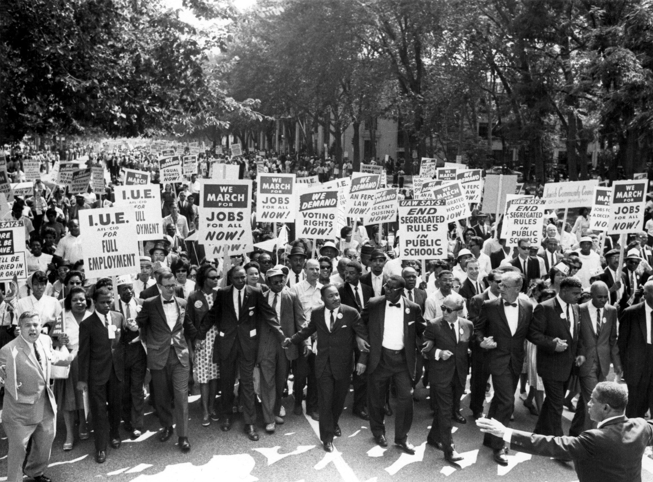 MLK civil rights protest