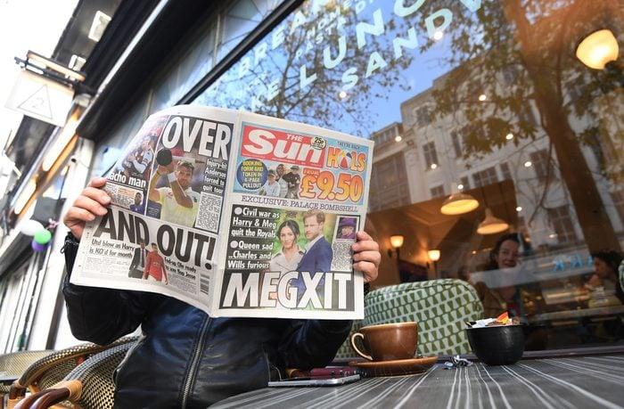 Megxit british newspaper Meghan Markle