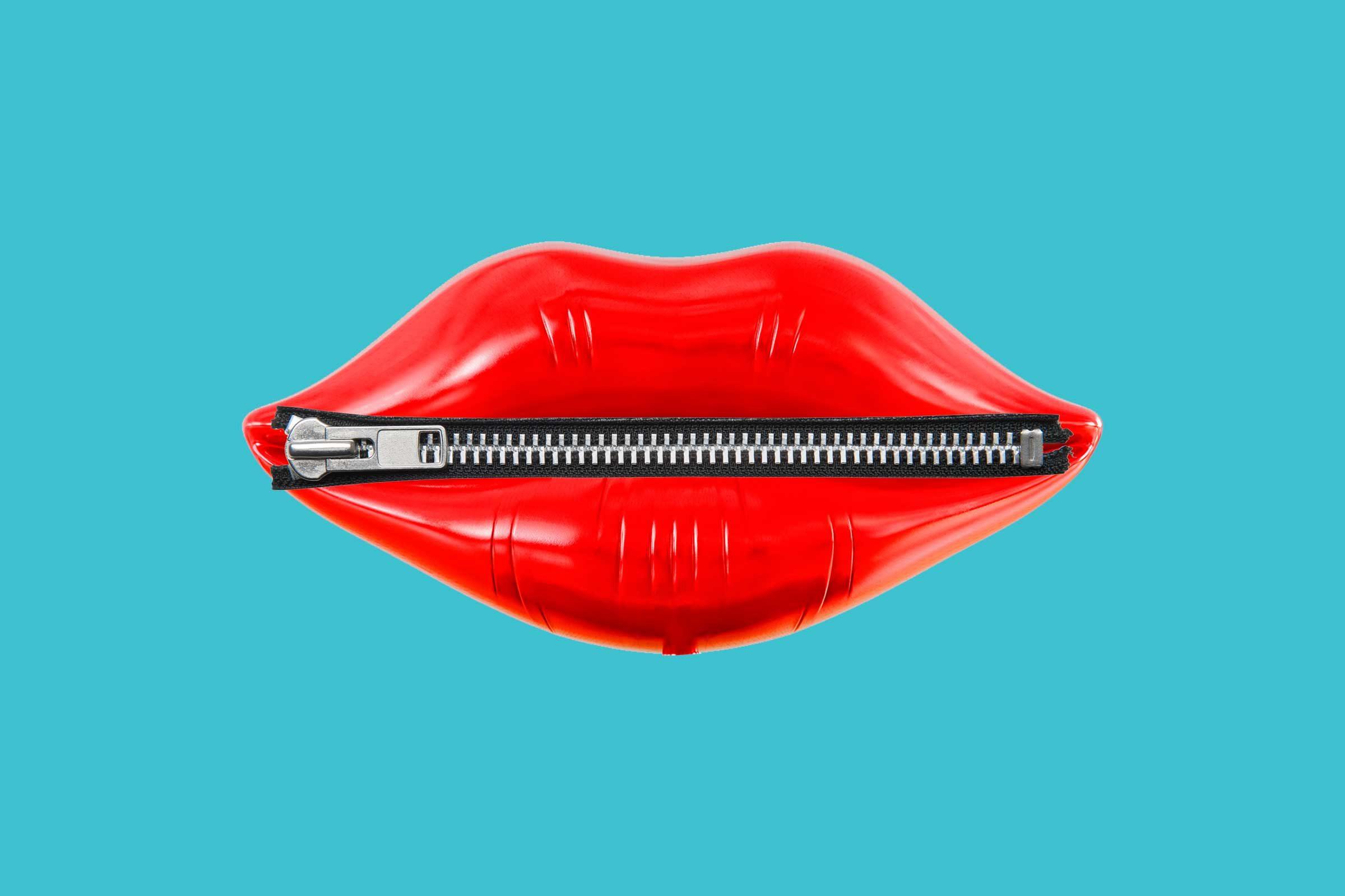 zip your lips idiom