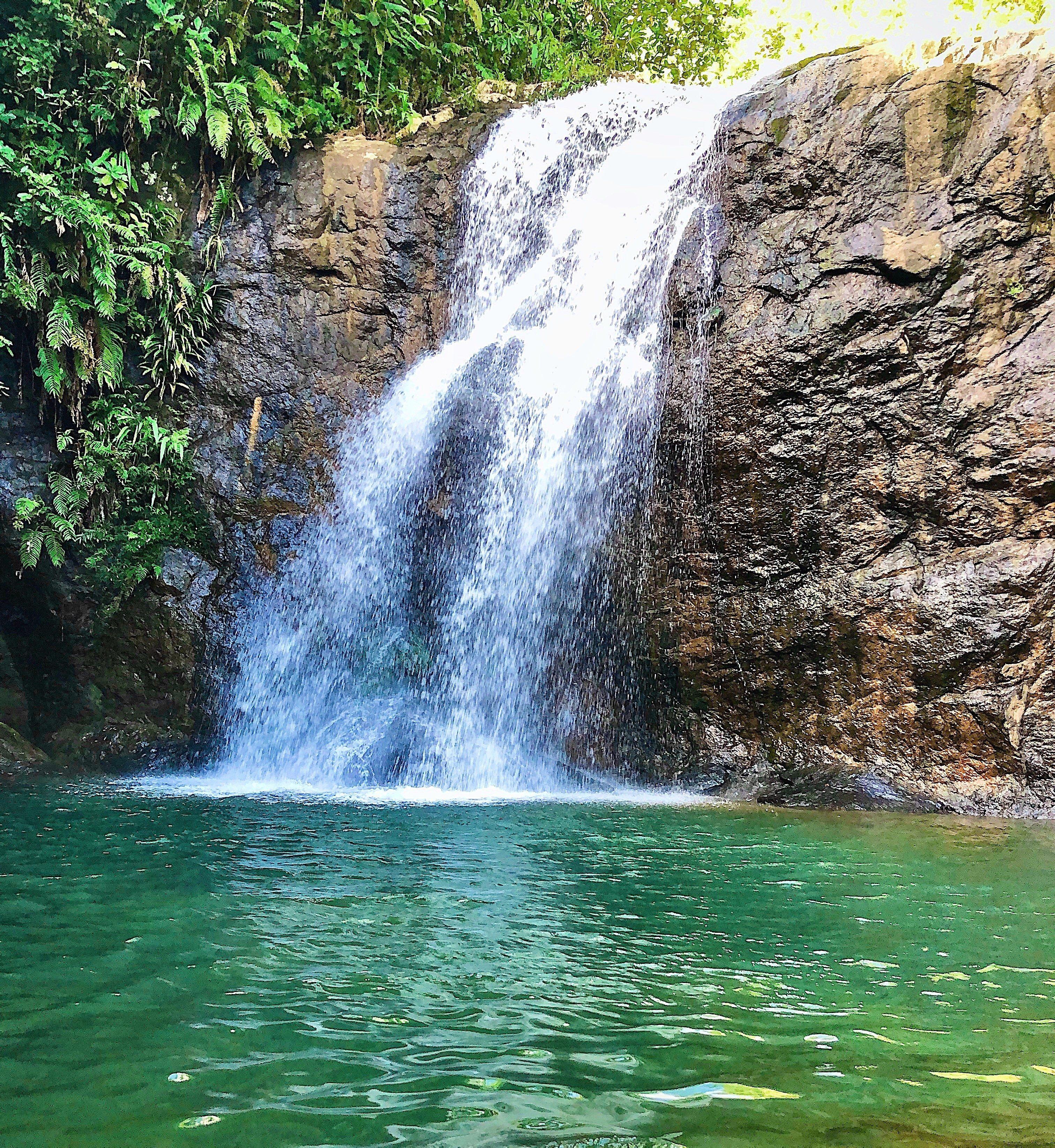 Namuamua Waterfall, Fiji