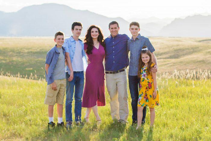 Charlotte Hilton Andersen family