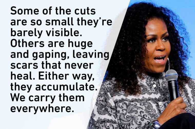 michelle obama first lady quote