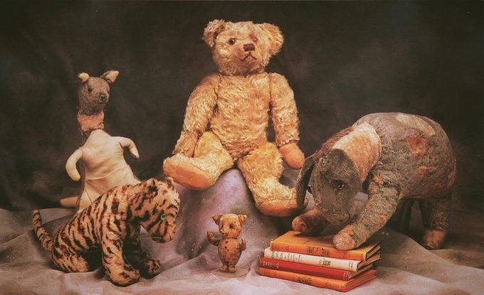 POOH' BEAR toys new york public library