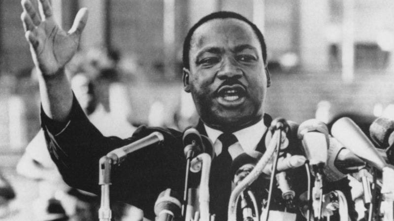 Martin Luther King, Jr., Close-Up During Speech, circa 1960's