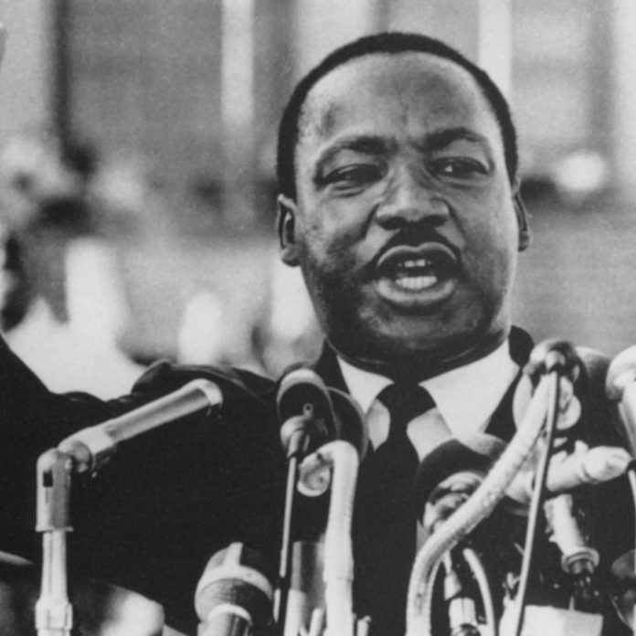 Martin Luther King, Jr., Close-Up During Speech, circa 1960's