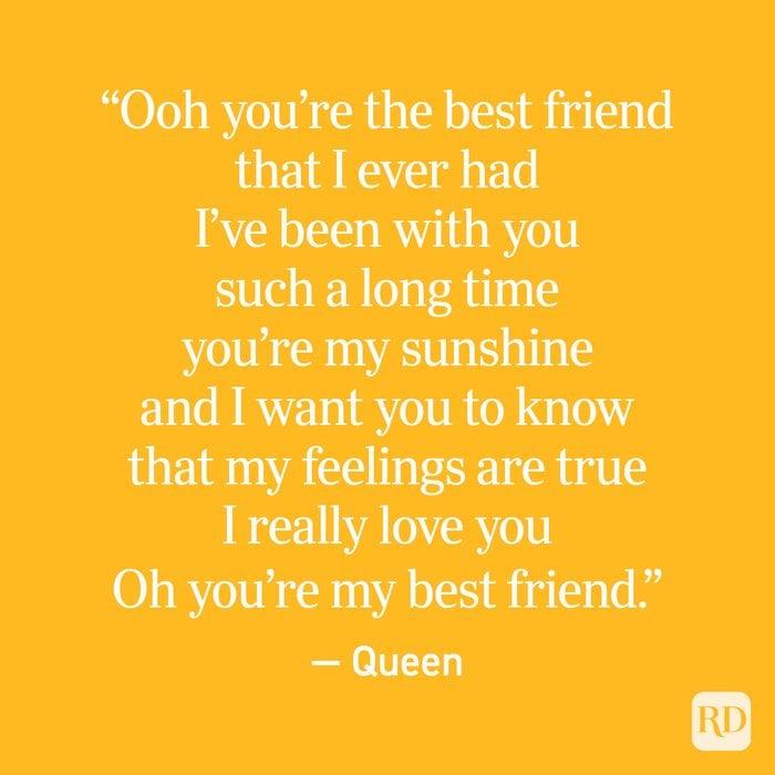 My i friend best why reasons love 25 Reasons