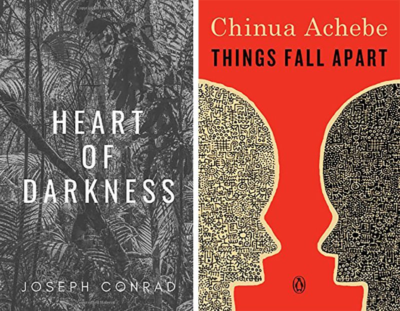 heart of darkness and things fall apart books
