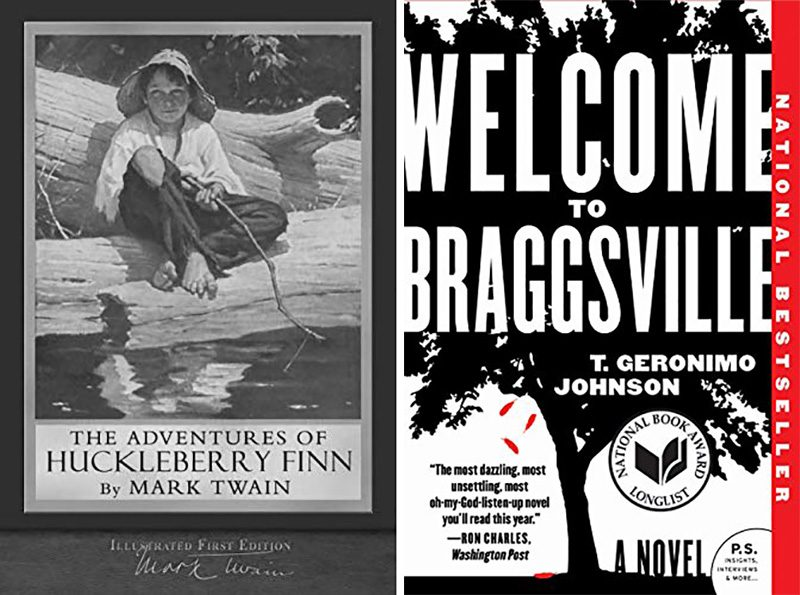welcome to braggsville book and the adventure of huckleberry fin