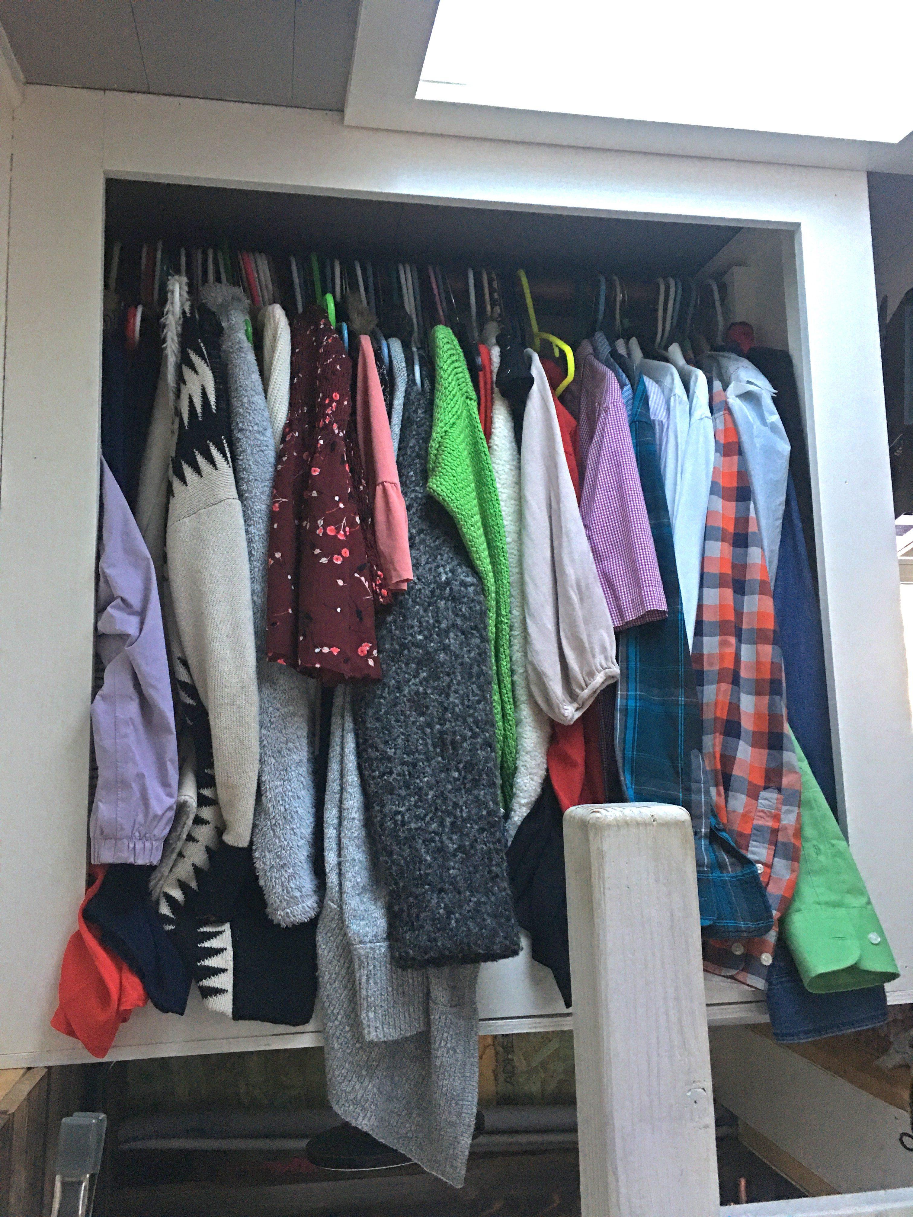 tiny house closet