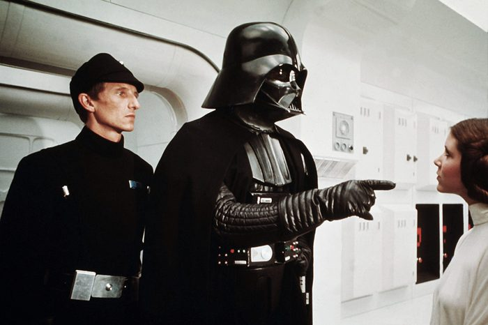 David Prowse, Carrie Fisher Star Wars Episode IV - A New Hope - 1977