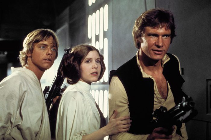 Mark Hamill, Carrie Fisher, Harrison Ford - Star Wars Episode IV - A New Hope - 1977