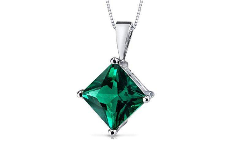 emerald necklace