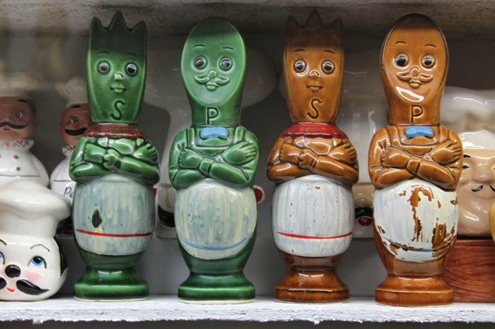 In Gatlinburg, Tenn., a collection of salt and pepper shakers are on display at The Salt and Pepper Shaker Museum.