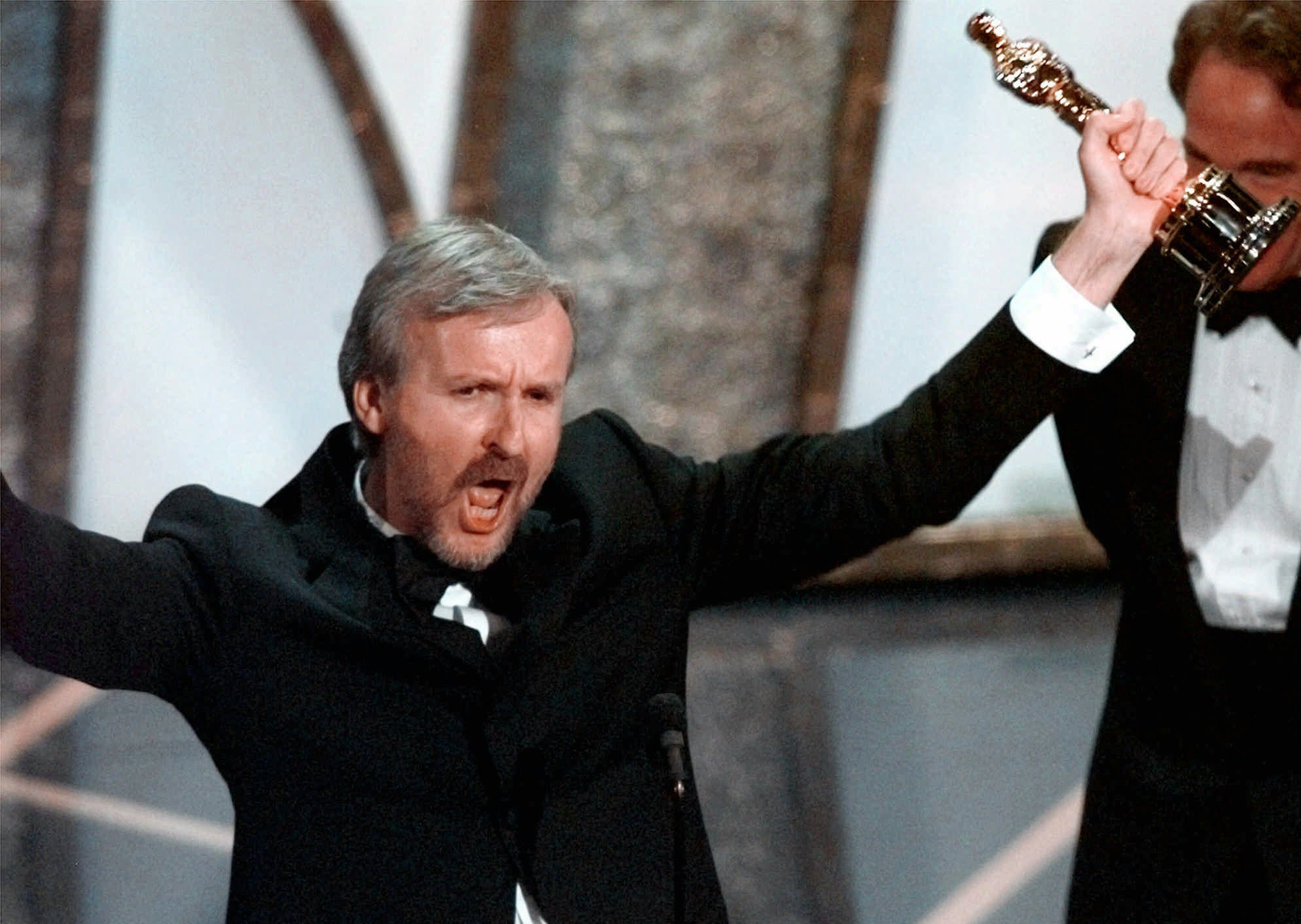 James Cameron the titanic 1998 oscars