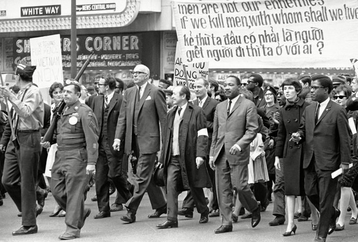 vietnam protest martin luther king