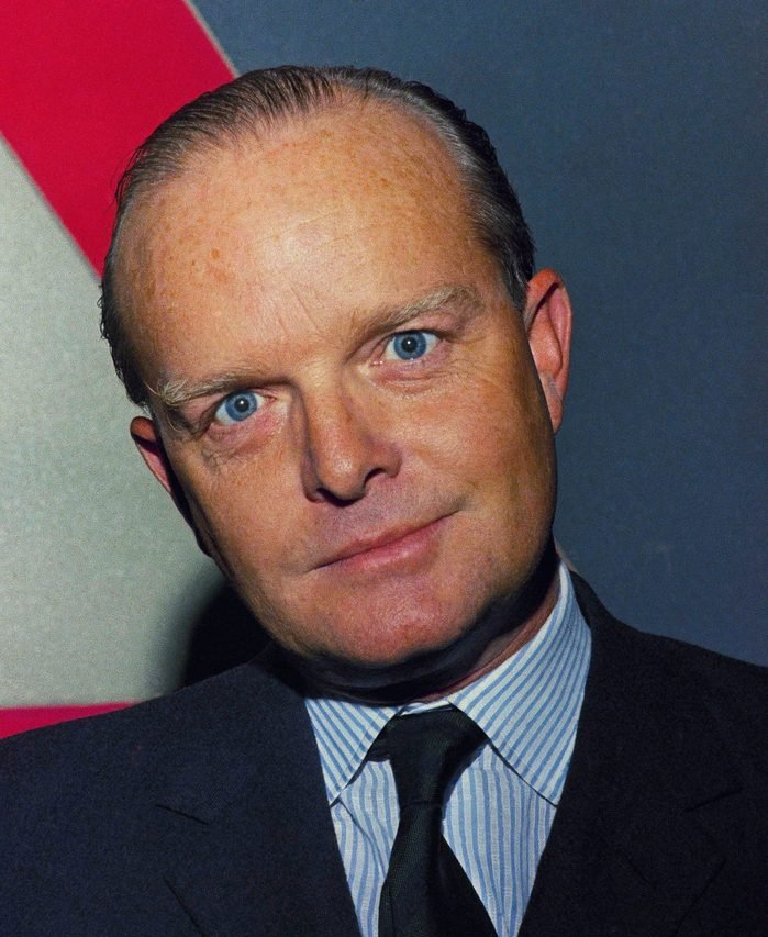Mandatory Credit: Photo by John Lent/AP/Shutterstock (6651421a) Watchf Associated Press APHS60460 TRUMAN CAPOTE Author Truman Capote is shown in New York on TRUMAN CAPOTE, NEW YORK, USA