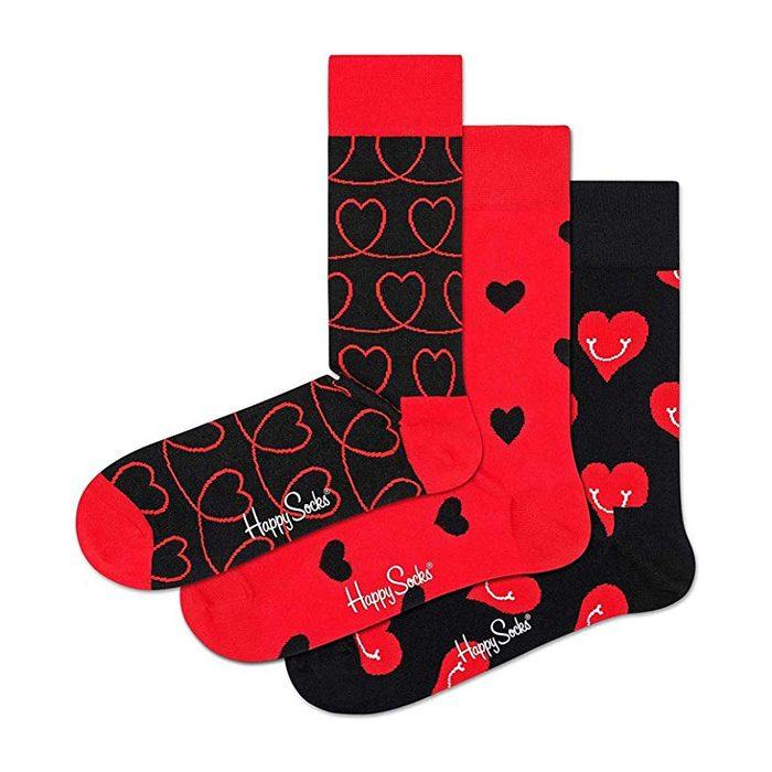 happy socks hearts