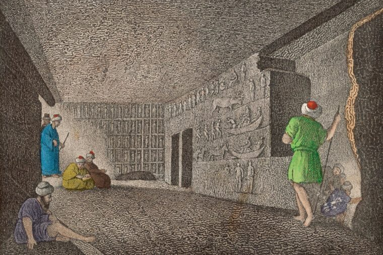 The Catacombs of the Pyramids of Giza 1836