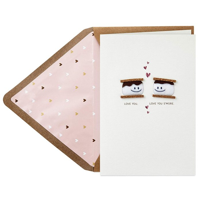 smores valentines day card