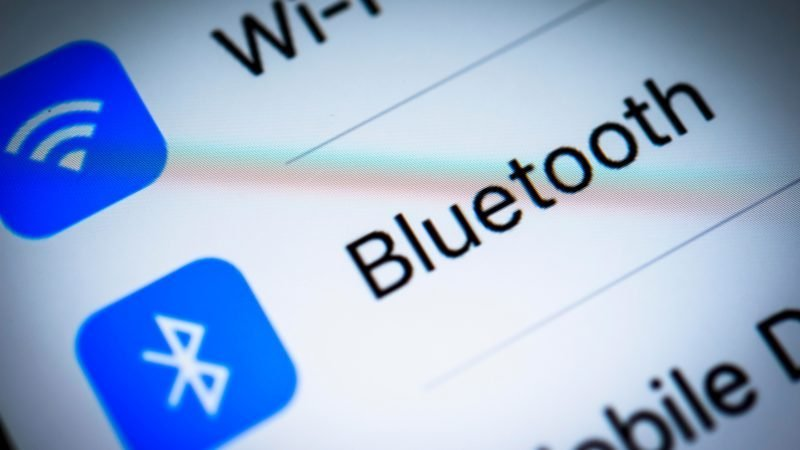 Bluetooth settings displayed on an iPhone