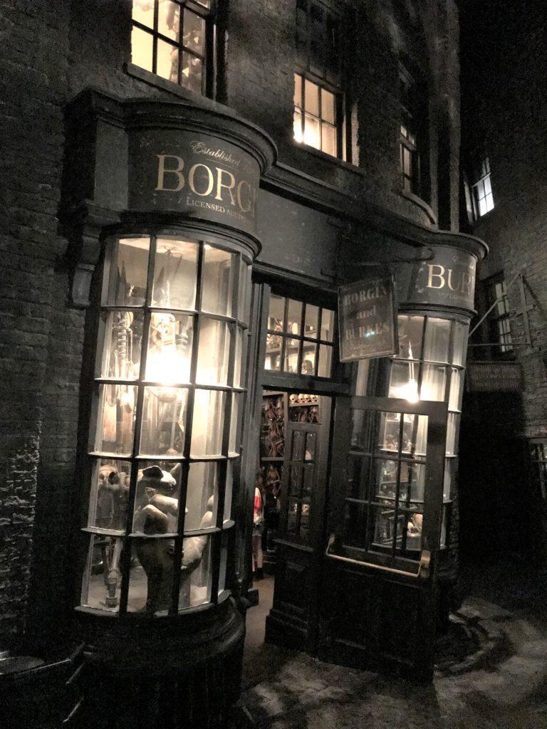 borgin and burke wizarding world harry potter universal orlando