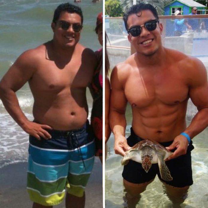 Logan Delgado instagram weight loss