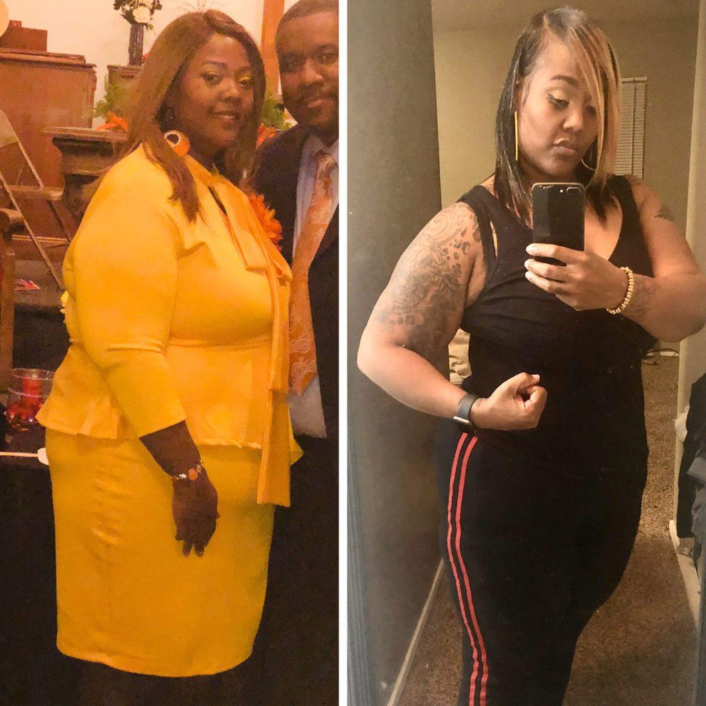 Ro'Shanda Martin instagram weight loss