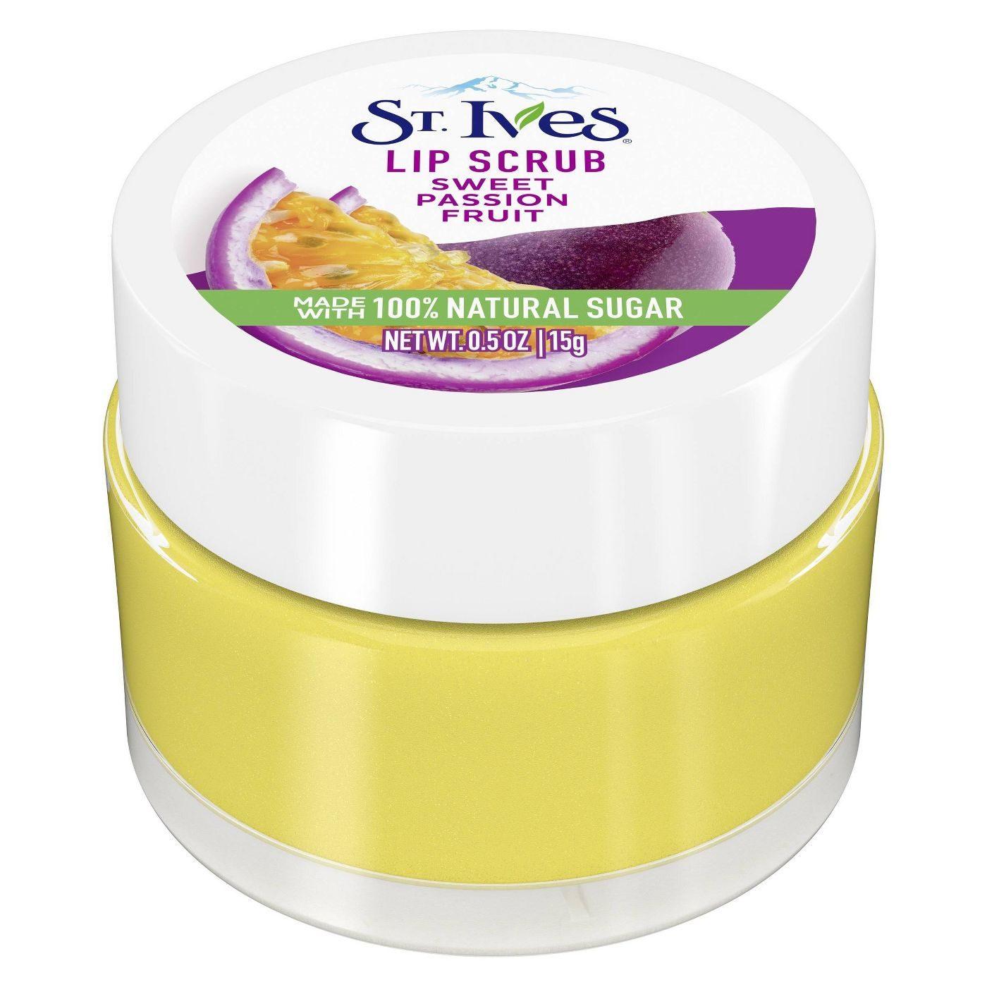 st. ives lip scrub