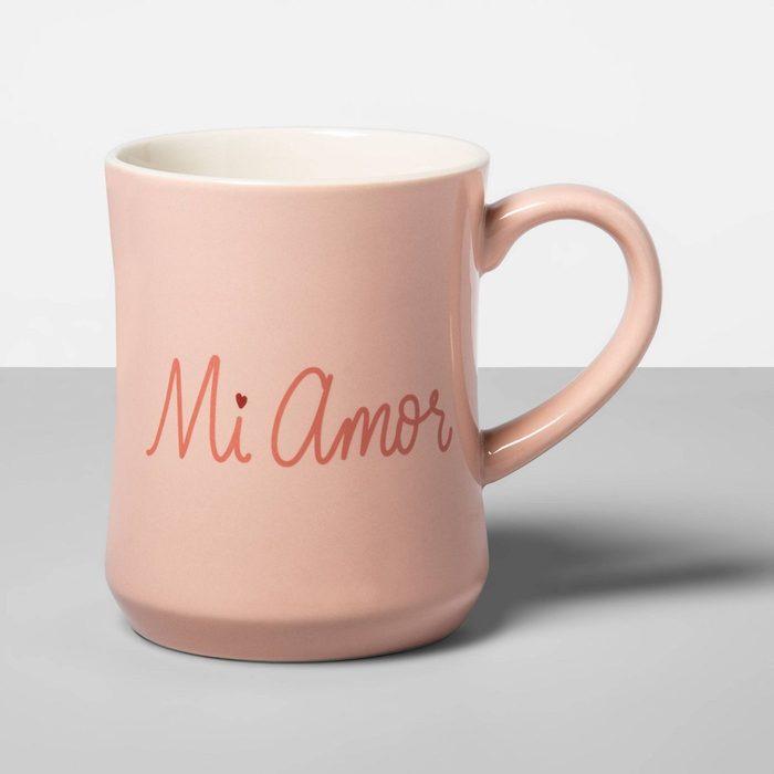 mi amor mug