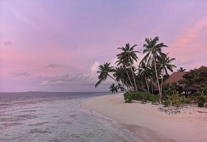 baa Atoll island Maldives