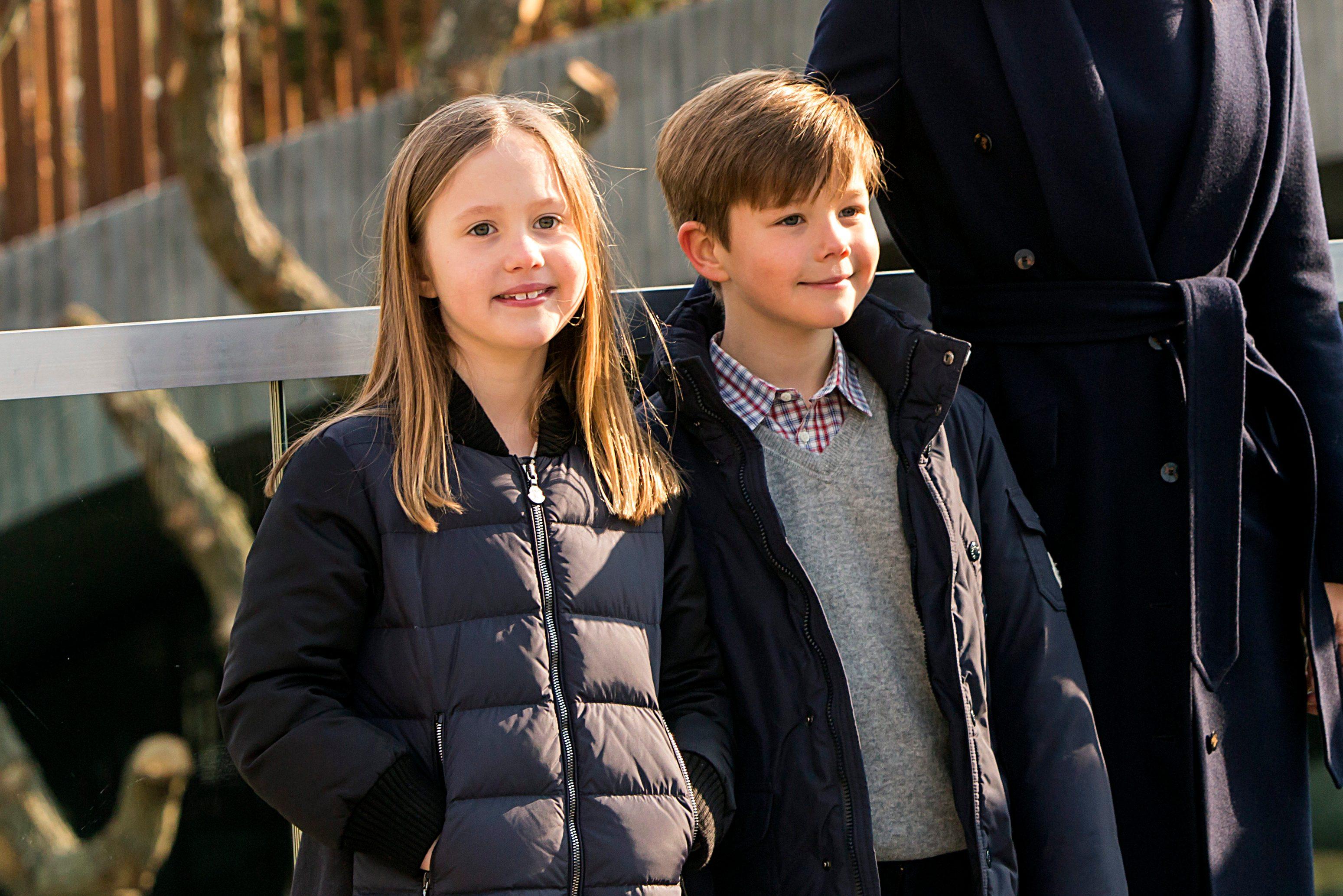 twins Prince Vincent and Princess
