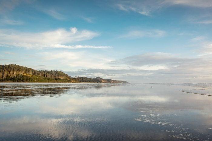 Scenic View Of Lake in Seabrook, Washington