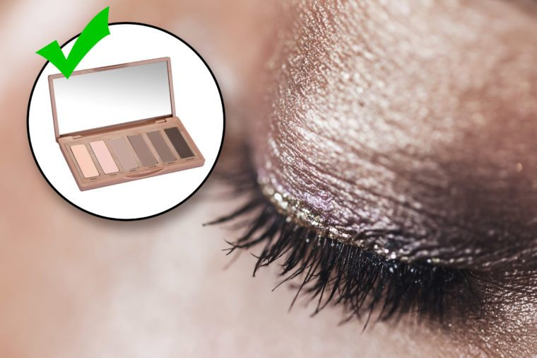 do and don't. style mistakes. don't wear shimmery sparkley eye shadow.