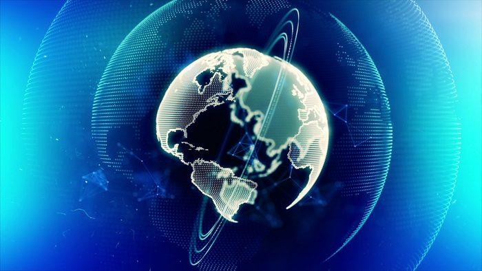 futuristic earth