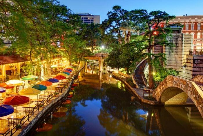 San Antonio River Walk in San Antonio, Texas