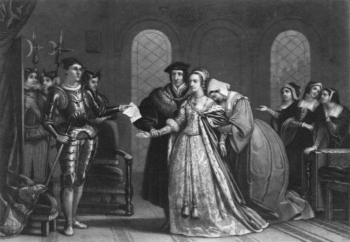Lady Jane Grey arrest by Queen Mary