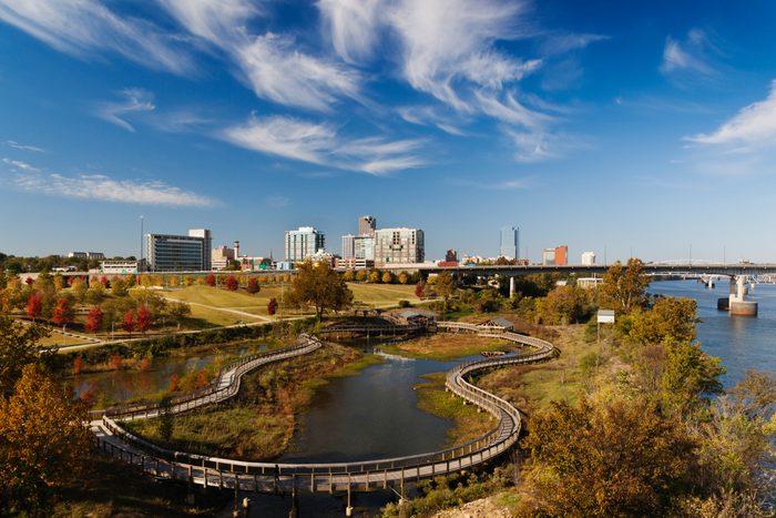 City skyline of Little Rock, Arkansas