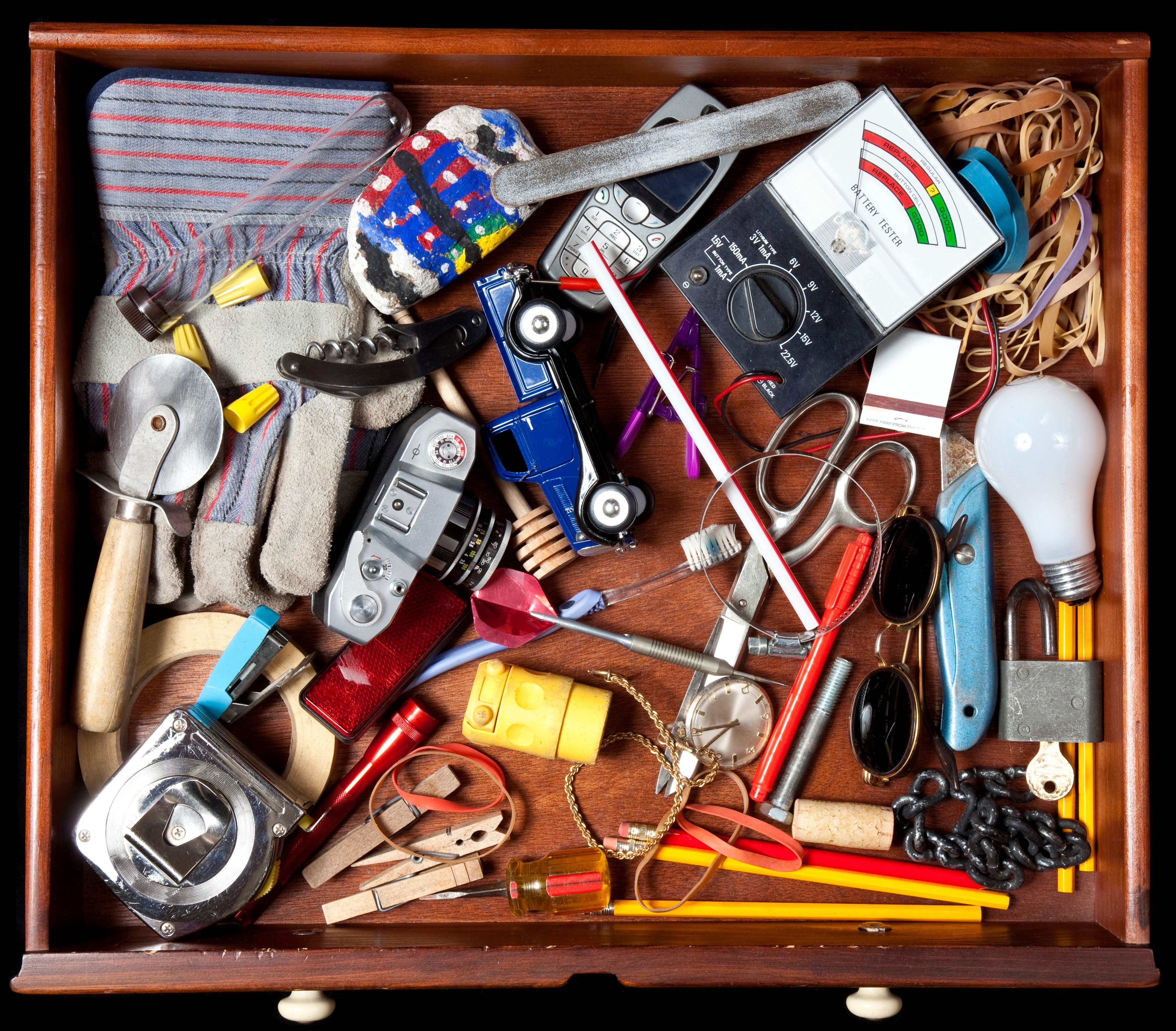 Why You Shouldn't Keep Batteries in the Junk Drawer