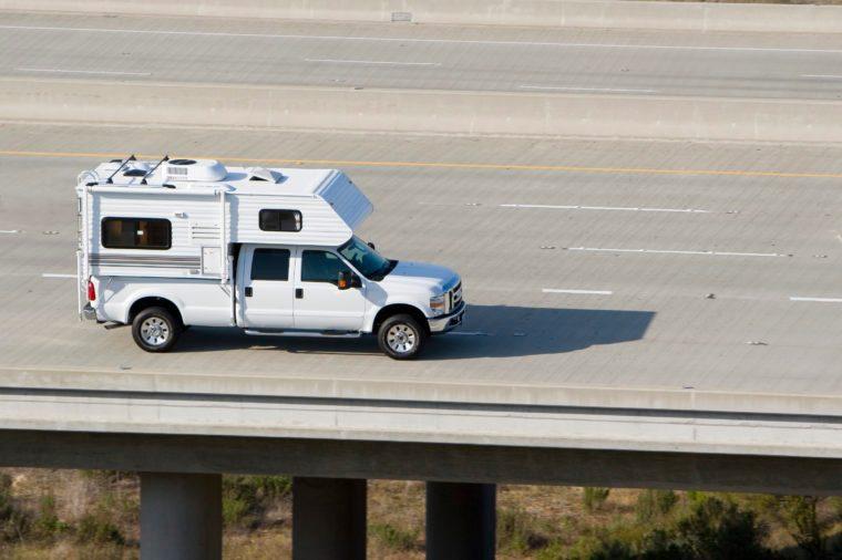 slide-in truck camper