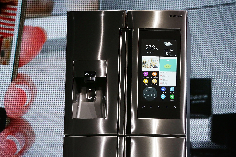 samsung talking refrigerator