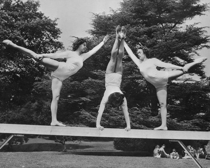 female olympic gymnasts