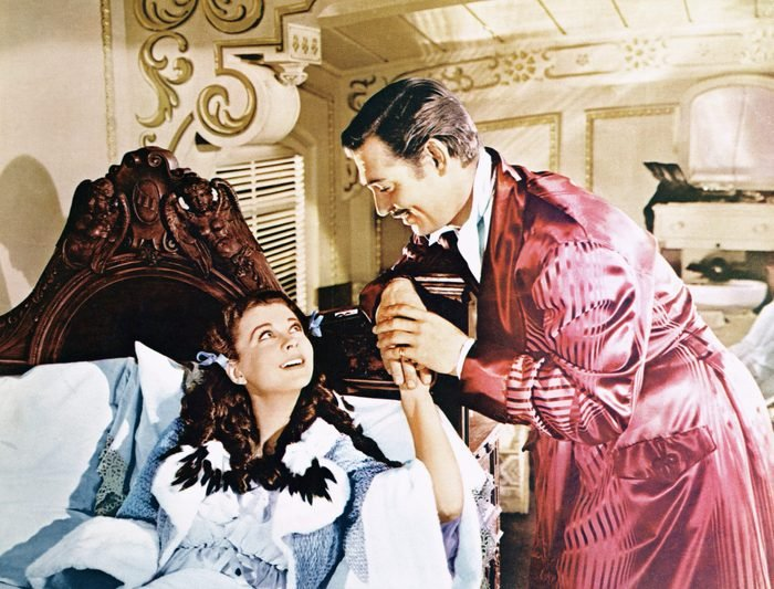 Clark Gable and Vivien Leigh Gone With the Wind movie fashion