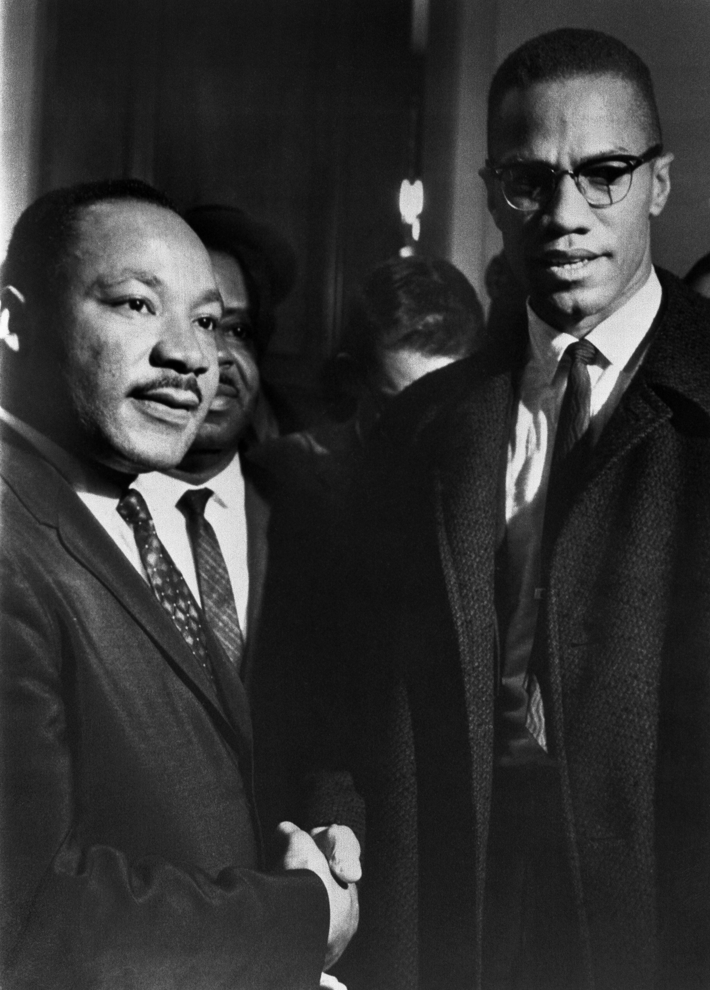 MLK Mlacolm x
