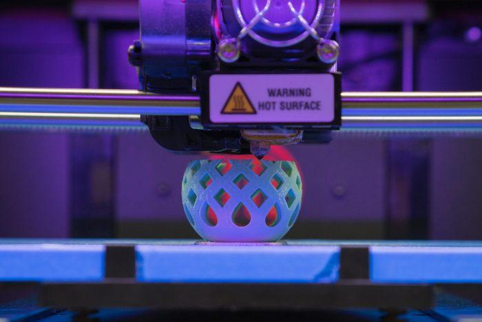3D Printer plastic bowl