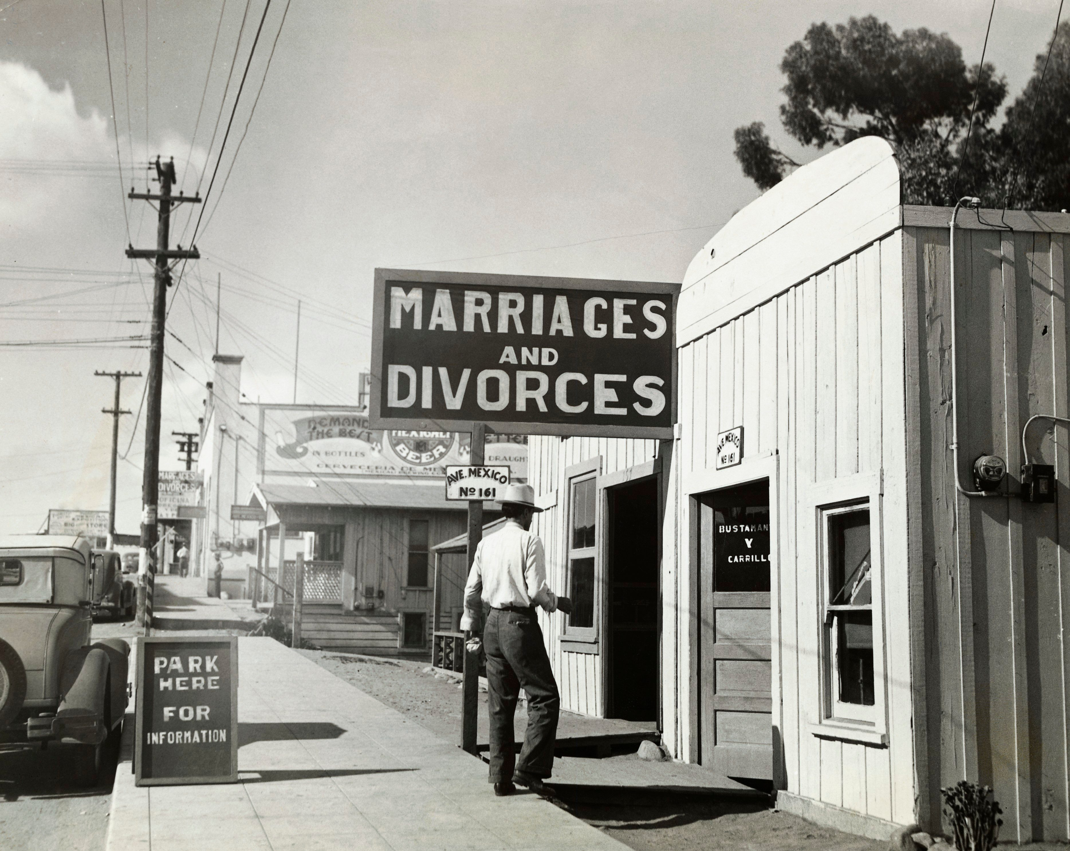 marriage and divorce 1920s